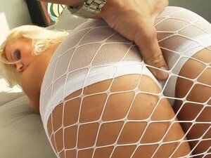 fishnet outfit