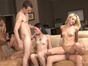 hot sex orgy from AnySex