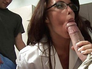 girls giving blowjob from SunPorno